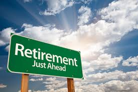 Retirement just ahead